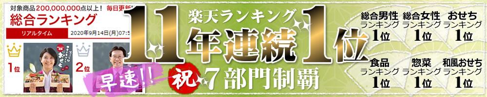 【速報】11年連続楽天1位
