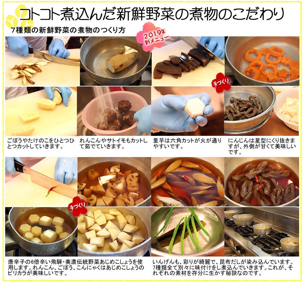 new)コトコトに込んだ野菜の煮物7種
